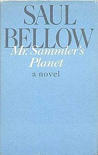 <i>Mr. Sammlers Planet</i> book by Saul Bellow