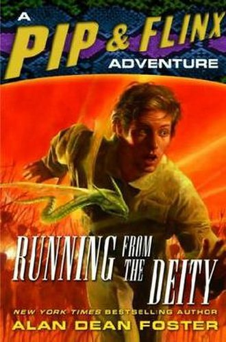 Running from the Deity - Paperback cover