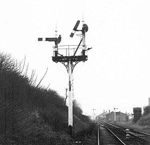 Berkeley Deane Wise - Wise introduced somersault signals to the BCDR and the BNCR, like these at Carrickfergus