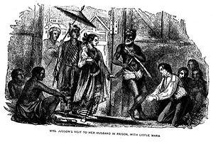 Ann Hasseltine Judson - Nancy visits Adoniram in prison