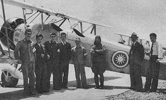 Tachikawa Ki-9 - A Ki-9 of the Reorganized National Government of China Air Force