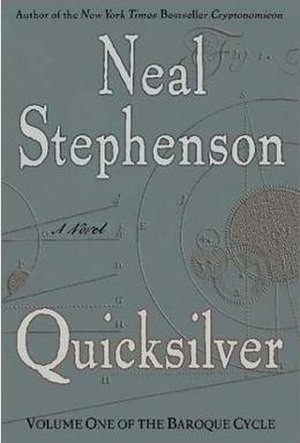 Quicksilver (novel) - First edition cover