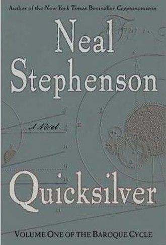 Quicksilver (novel) - First edition cover