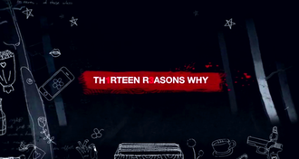 13 Reasons Why - Image: Netflix's 13 Reasons Why title screen
