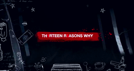 Netflix's 13 Reasons Why title screen