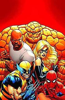 The New Avengers (comics) Group of Marvel Comics