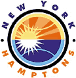 New York Sportimes - New York Hamptons logo used from 2000 to 2002.
