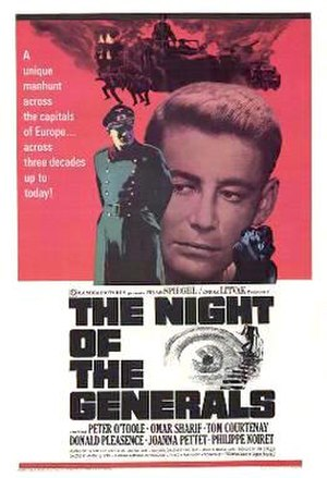 The Night of the Generals - Theatrical release poster