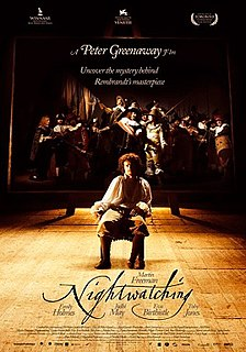 <i>Nightwatching</i> 2007 film by Peter Greenaway