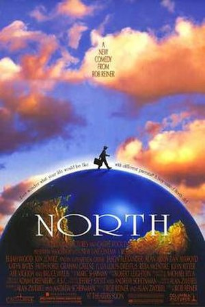 North (1994 film) - Theatrical release poster by John Alvin
