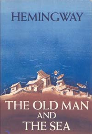The Old Man and the Sea - Original book cover