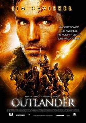 Outlander (film) - Promotional release poster