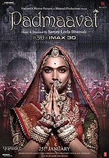 <i>Padmaavat</i> 2018 film by Sanjay Leela Bhansali