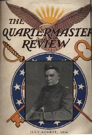 Warren Whitside - Cover of the 1934 July–August Quartermaster Review Featuring Col. Warren W. Whitside, then of the 89th Division