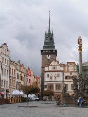 Pardubice - Image: Pardubice Green Tower