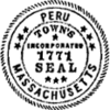 Official seal of Peru, Massachusetts