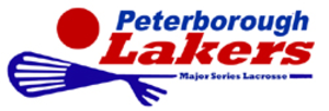 Peterborough Lakers (MSL) - Image: Peters Lakers logo