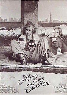 <i>Alice in the Cities</i> 1973 film by Wim Wenders