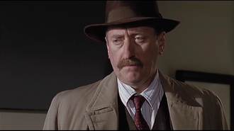 Inspector Japp - Philip Jackson as Japp