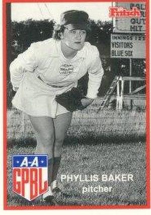 Phyllis Baker - Image: Phyllis Baker