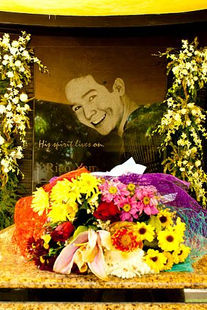 Rico Yan - Image: Picture of Yan in his Mausoleum