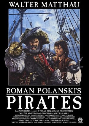 Pirates (1986 film) - Theatrical release poster