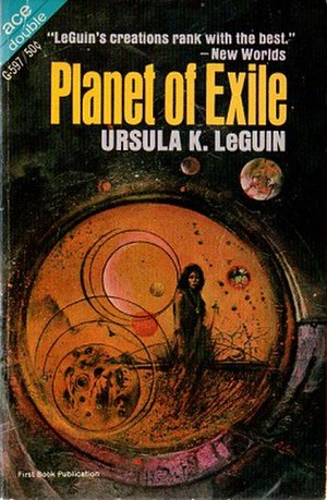 Planet of Exile - Cover of first edition (softcover)