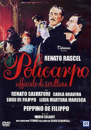 Policarpo (film) - DVD cover