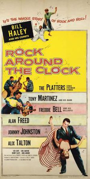 Rock Around the Clock (film) - Image: Poster of the movie Rock Around the Clock