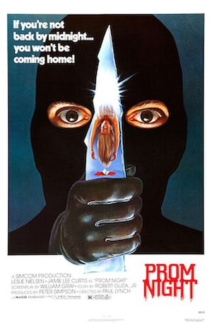 Prom Night (1980 film) - Theatrical release poster