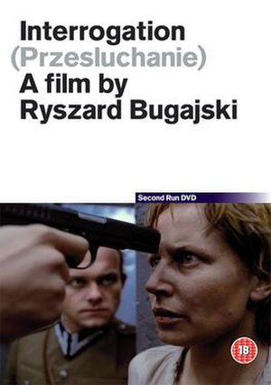 Interrogation (1982 film) - DVD cover