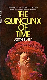 <i>The Quincunx of Time</i> book by James Blish