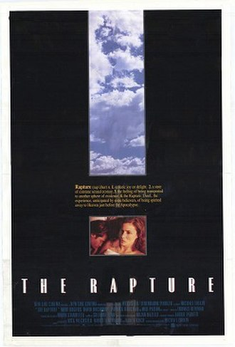 The Rapture (1991 film) - theatrical release poster