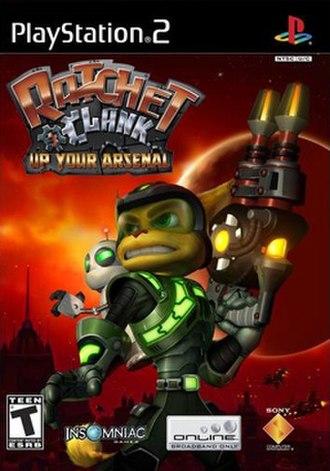 Ratchet & Clank: Up Your Arsenal - Image: Ratchetandclank 3box