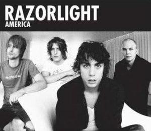 America (Razorlight song) - Image: Razorlight America cover