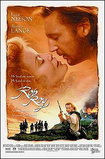 <i>Rob Roy</i> (1995 film) 1995 film by Michael Caton-Jones