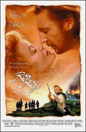 Rob Roy (1995 film) - Theatrical release poster
