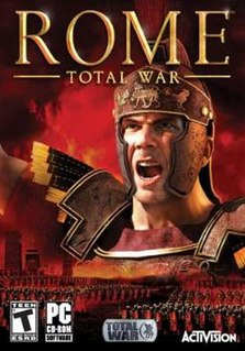<i>Rome: Total War</i> strategy video game