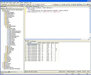 SQL Server Management Studio - Image: SQL Server Management Studio