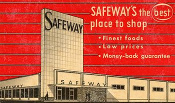 A Safeway advertisement from the 1950s.