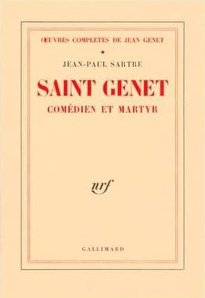 Saint Genet - Cover of the French edition