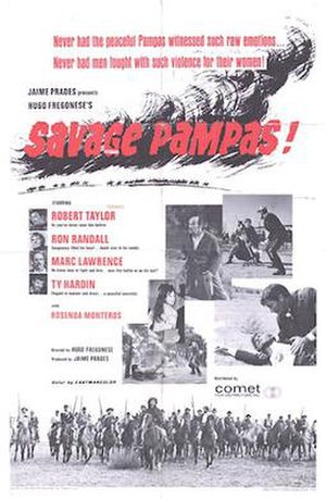 Savage Pampas (1966 film) - Theatrical poster