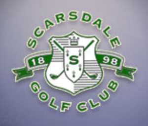 Scarsdale Golf Club - Image: Scarsdale GC logo