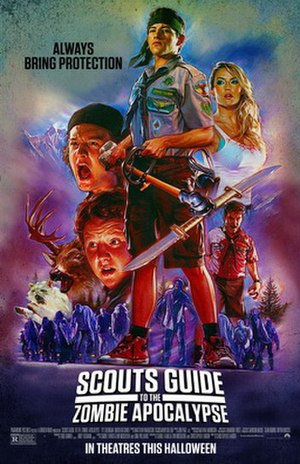 Scouts Guide to the Zombie Apocalypse - Theatrical release poster