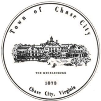 Chase City, Virginia - Image: Seal of Chase City, Virginia