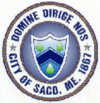 Official seal of Saco, Maine