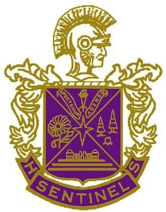 Sentinel High School - Image: Sentinel High School logo