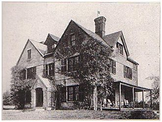 Sigma Delta Rho - The Sigma Delta Rho house pictured in 1919