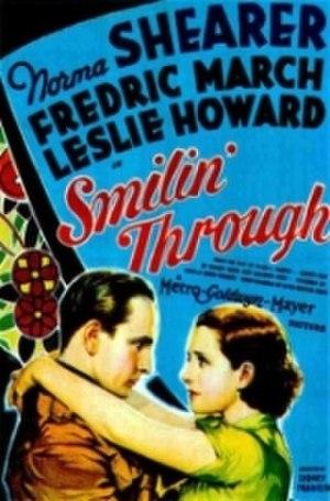 Smilin' Through (1932 film) - Theatrical poster
