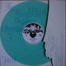 Blue vinyl version